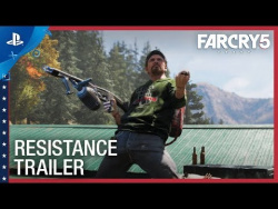 Far Cry 5 - The Resistance Trailer | PS4