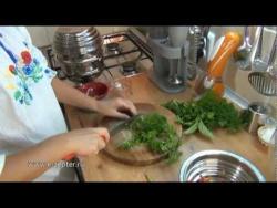 Солёные баклажаны - видео рецепт