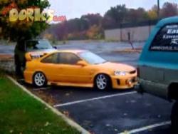 Мастерство параллельной парковки!