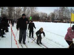 Пучеж. Лыжня России