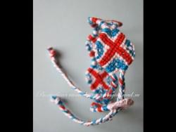 Фенечка конфетка Британка