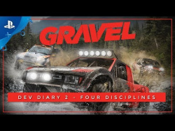 Gravel – Dev Diary #2: 4 Disciplines to be #1 | PS4
