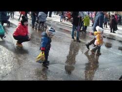 Танец на воде