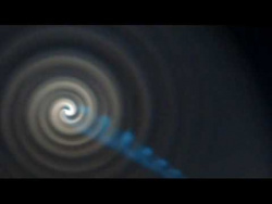 STRANGE SPIRAL LIGHTS OVER NORWAY