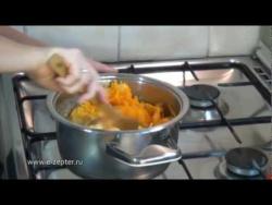 Варенье из тыквы с апельсином - Видео рецепт
