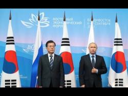 Заявления для прессы по итогам переговоров с Президентом Республики Корея Мун Чжэ Ином
