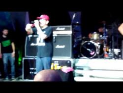 Гитарист Bloodhound Gang осквернил российский флаг, но потом извинился.
