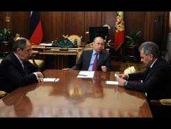 Встреча с Сергеем Лавровым и Сергеем Шойгу