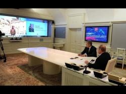 Доклад о ходе разминирования исторической части Пальмиры