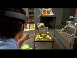 Microsoft HoloLens -  первый взгляд на голографический компьютер