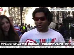 """""""Катюша"""" с выходом: В Британии поют русские песни, отмечая Brexit"""