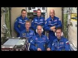 Телемост с Международной космической станцией и космодромом Восточный