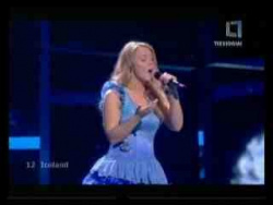 Eurovision 2009 * 12 Iceland * 1st Semi-Final *