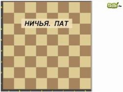 Ничья. пат. Вечный шах. Рокировка