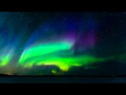 Сногсшибательное видео северного сияния и видов нашей планеты