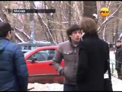 Корреспондент РЕН один против Кавказцев.