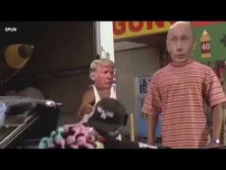 Пародия Путин Трамп и Ким Чен Ын