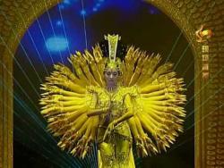Китайский танец - Тысячерукая Гуаньинь