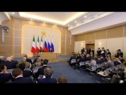 Ппресс-конференция по итогам российско-итальянских переговоров