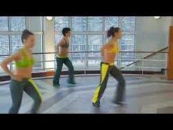 Танцуй-худей: Танцевальная аэробика Часть 1