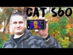 CAT S60: карманный тепловизор