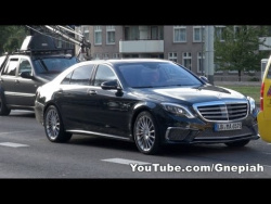 Mercedes-Benz 2014 S65 AMG NAKED on the road! - Behind the scenes of the commercial shoot!