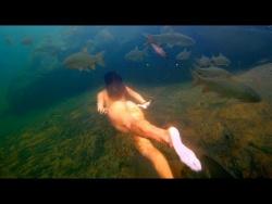 Подводная съемка в ЧАШЕ ВОДОПАДА! Таиланд