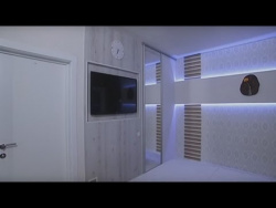 Ремонт в маленькой спальне в стиле минимализм - Удачный проект - Интер