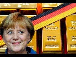 США кинули немцев на золото по законам оккупации!