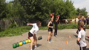 Девушки-гиревички зажигают, 16.07.2016 г., г.Иваново.