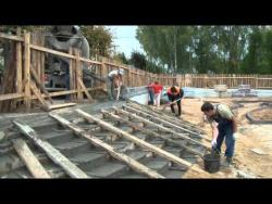 Строительство сквера
