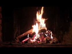 Sleep Easy Fireplace (Full HD 1080p with perfect crackling sound for insomnia and stress)