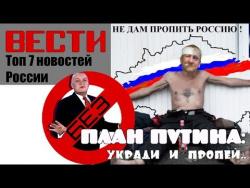 ПЛАН ПУТИНА: украсть и пропить. ТОП 7 абсурдных новостей из России.