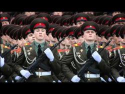 Парад, посвящённый 67-летию Победы