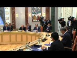 Встреча глав государств Высшего Евразийского экономического совета