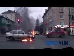 Не очкуй или Дураки и дороги 2018 Сборник безумных водителей #8
