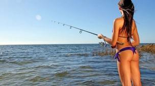 Секс на рыбалке на волге