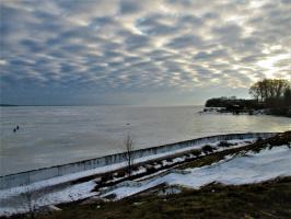 Январское небо