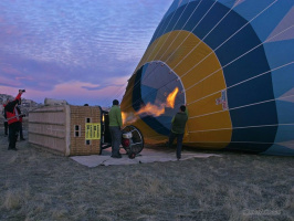 Когда Москва вперые увидела полёт воздушного шара?