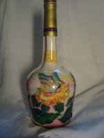 бутылка- роспись по стеклу