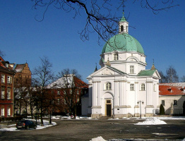 Варшава зимой.