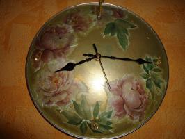 Часы из крышки от сковороды