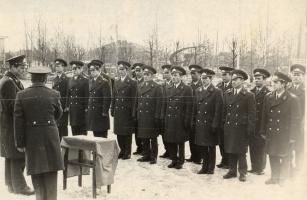 Принятие присяги сотрудниками милиции