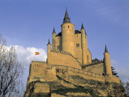 Alcazar Tower, Segovia, Spain