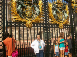 У ворот Букингемского дворца