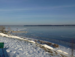 Волга и рыбаки