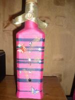 Плетёные бутылочки