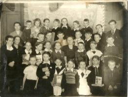 Школьные годы чудесные... фото 1959г. Симеоновская начальная школа.