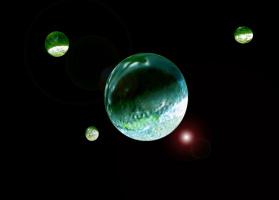 """Планетная система """"Капелька"""" :)))"""