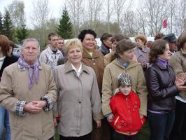 9 Мая 2006 г. на митинге в честь Дня Победы.